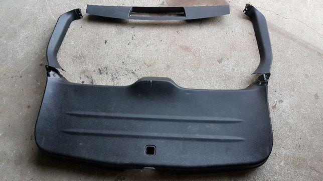 Tapicerka tylnej klapy, odblask, światło, ramię Subaru Forester III-SH