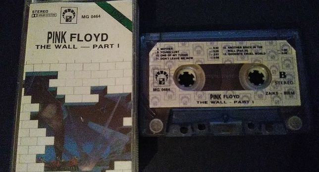 Pink Floyd – The Wall - Part I, 1991, KASETA MAGNETOFONOWA