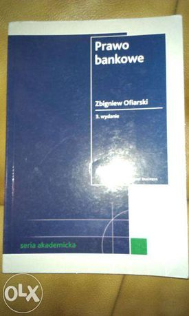 Prawo Bankowe Z.Ofiarski