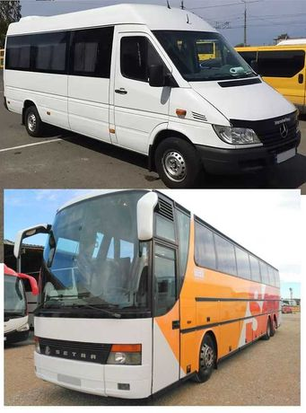 Пасажирські перевезення Тернопіль Оренда мікроавтобуса автобуса