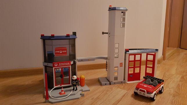 Remiza strażacka Playmobil