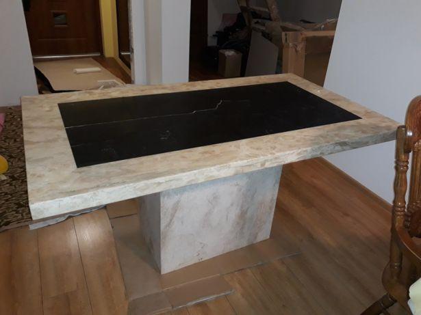 Stół z marmuru do jadalni