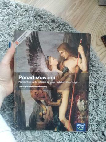 Podręcznik Ponad Słowami zakres podstawowy irozszerzony Klasa 1 część1