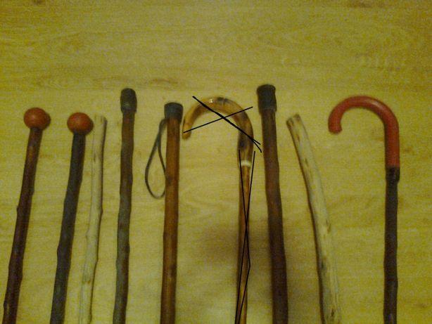 laska; kostur; drewno; IDEALNE jako REKWIZYT TEATRALNY - też do użytk