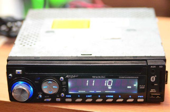 Radio samochodowe Waikiki FM/CD/Mp3/USB/SD/AUX Lombard Tarnów