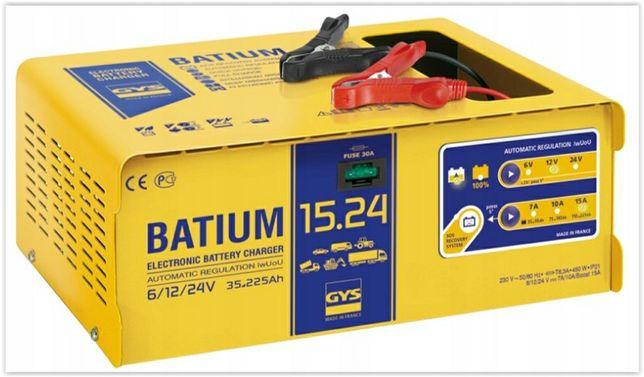 Prostownik z mikroprocesorem 6-12-24 V  BATIUM 15-24