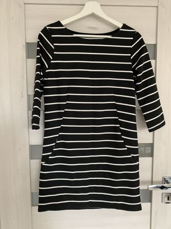 Sukienka damska czarna M 38 sportowa
