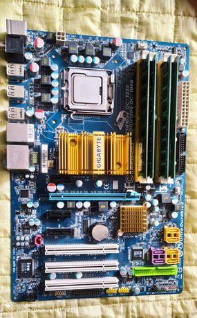 Gigabyte GA-P35-DS3 z 8gb Ram ,Procesor, wentylator GRATIS !!