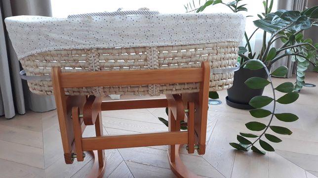 Люлька-качалка из плетения
