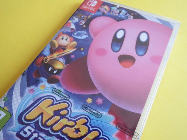 Nintendo SWITCH HIT Kirby Star Allies dla dzieci nowa zafoliowana