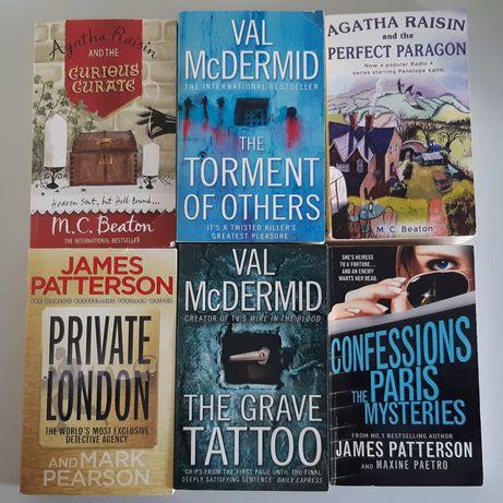 McDermid,Patterson,Beaton książki PO ANGIELSKU angielski books