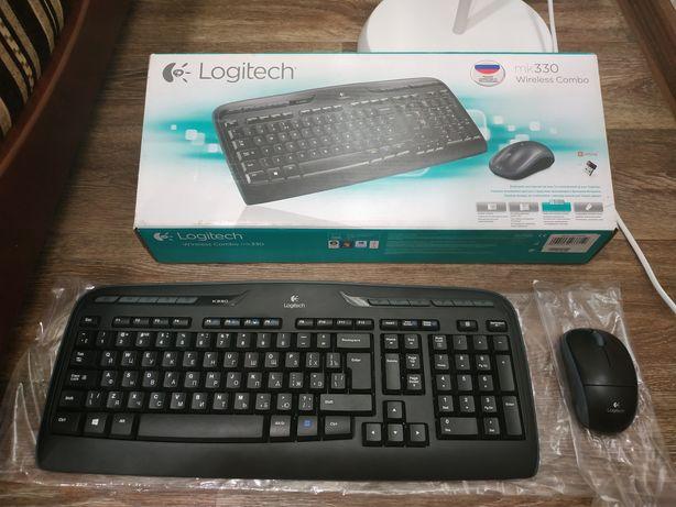 Logitech MK 330 (беспроводной набор мышь+клавиатура)