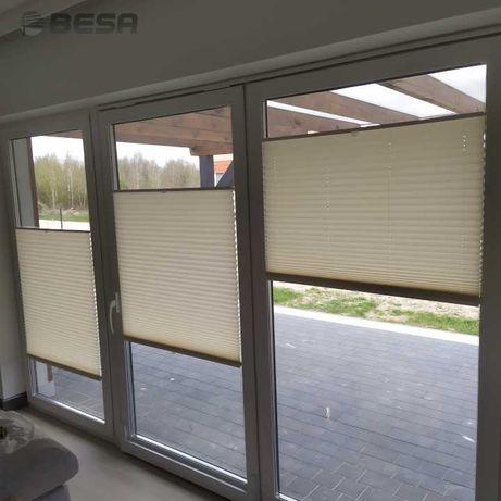 Rolety Plisy Żaluzje - dekoracje okienne na wymiar