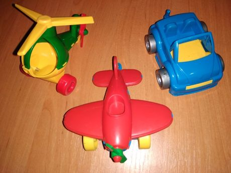 Машинка самолёт вертолет Wader Tigres