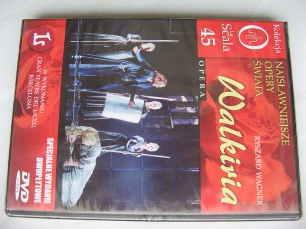 La Scala Opery, Walkiria, Ryszard Wagner, 2 płyty DVD, 239 min/folia
