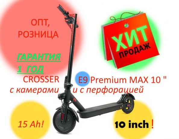 Электросамокат Crosser E9 Premium MAX Crosser T4 TURBO Sport Air Kugoo