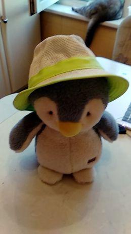 Плетеная панамка-шляпка для девочки 3-12 лет .