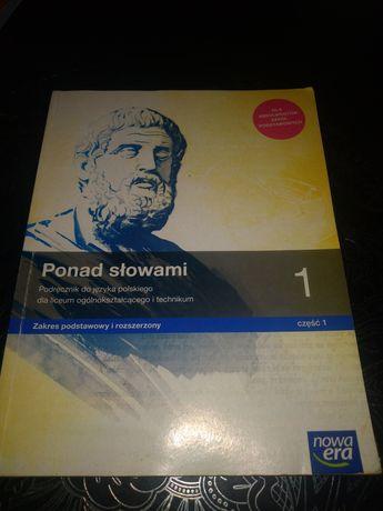 Ponad słowami podręcznik do języka polskiego nowa era