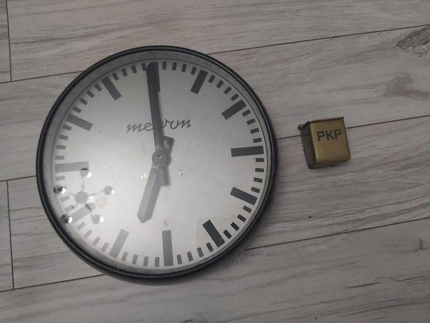 Zegar i popielniczka z pociągu PKP