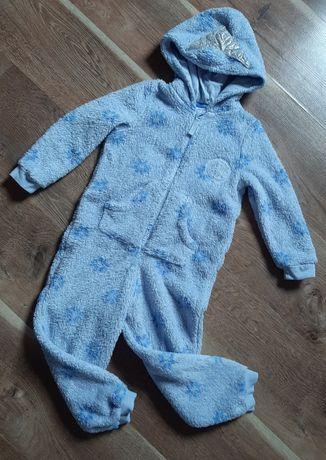 Тёплая пижама слип кигуруми ,, Frozen,, от M&S на 4-5 лет