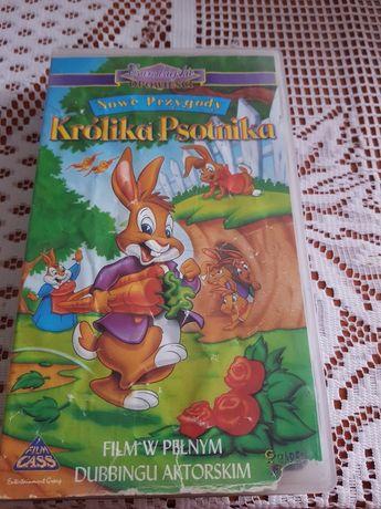 Bajka Nowe przygody królika psotnika kaseta vhs