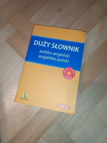 Słownik polsko-angielski z płytą MARTEL langenscheidt