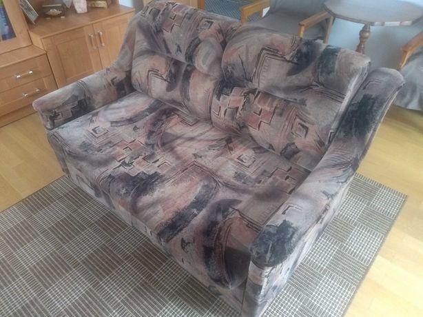 Sofa kanapa wersalka łóżko brąz