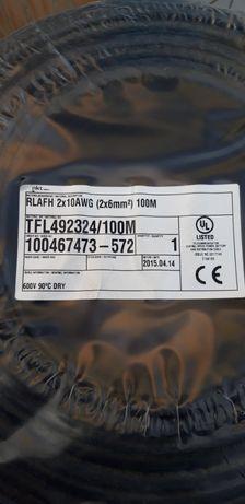 кабель 2x10AWG (2*6 кв.мм) новый