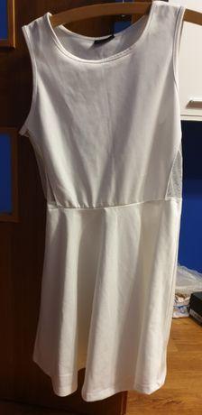 Nowa sukienka biała rozm xs