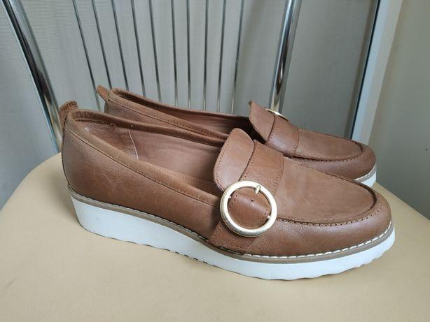 40 p. Next кожаные туфли