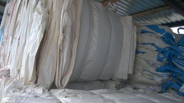 Używane I NOWE Worki BIG BAG 110/110/235 cm duże ilości 1250 kg