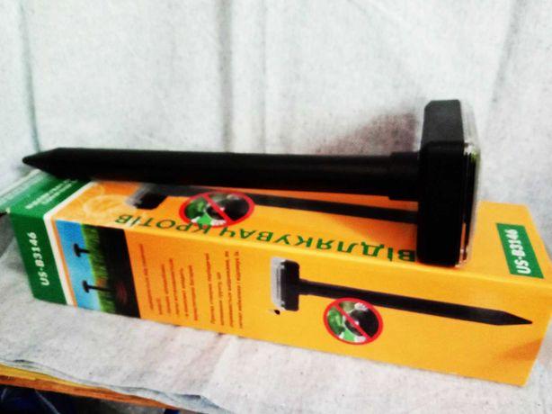 *БЕЗ КРОТОВ!-отпугиватель кротов и грызунов на солнечной батарее B3146