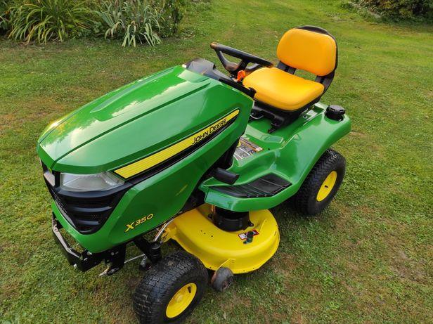 Kosiarka traktorek John Deere x350 V2