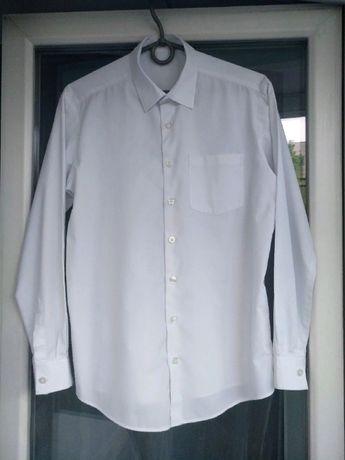 """Рубашка школьная """"George"""" р.152-158 мальчику 12-13лет белая сорочка"""