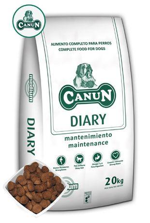 Karma dla psa CANUN DIARY dla psów dorosłych i starszych 20 kg