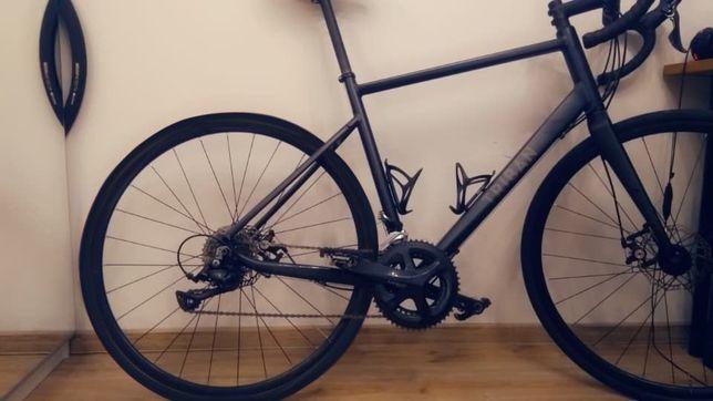Triban RC 500 rower szosowy carbon rozm 188 cm - 200 cm gravel