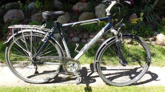 rower męski bergamont koła 28- 24 biegi -amortyzator