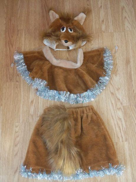 Новогодний костюм Белочка р-р 4-5 лет