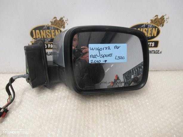 Range Rover Sport L320 após 2010 espelhos (com câmera, luz de cortesia, dobrável)