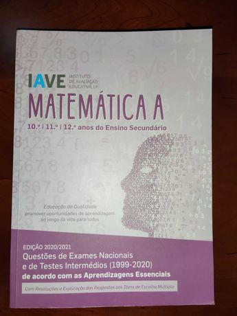 Livro IAVE Matemática A - Nova Edição (2021)