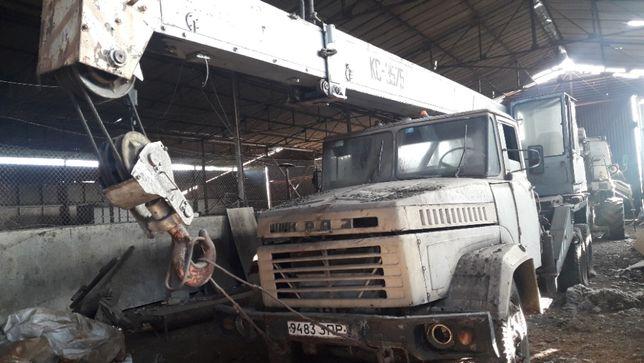 автокран КС 3575 на базе Краз 250, 10 тонн