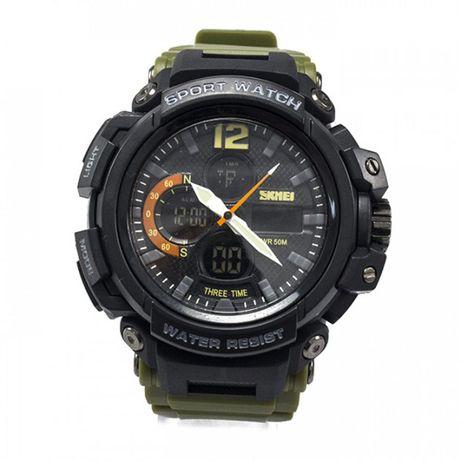 Часы Skmei 1343BOXAG Army Green BOX