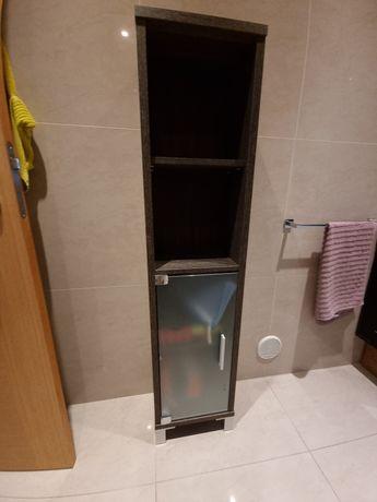 Móvel WC Wenge 23 x 34 x 141 cm