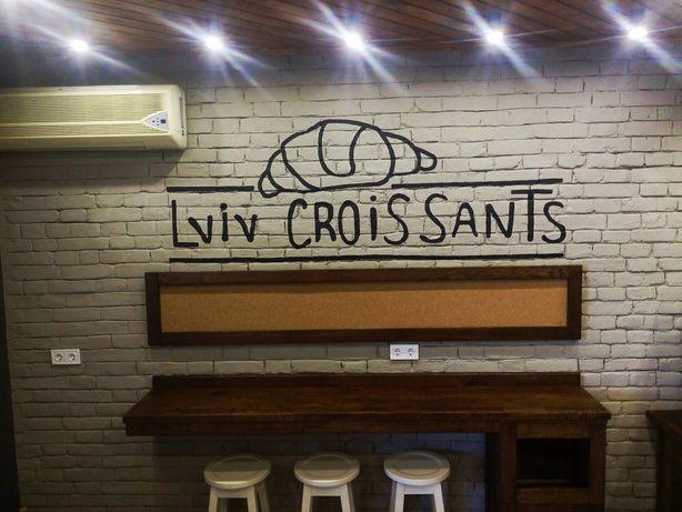 Роспись стен, художник, дизайнер, оформление кафе меню, ручная роспись