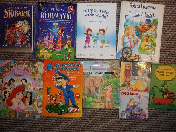 Książki dla dzieci, bajki, stan idealny, jak nowe