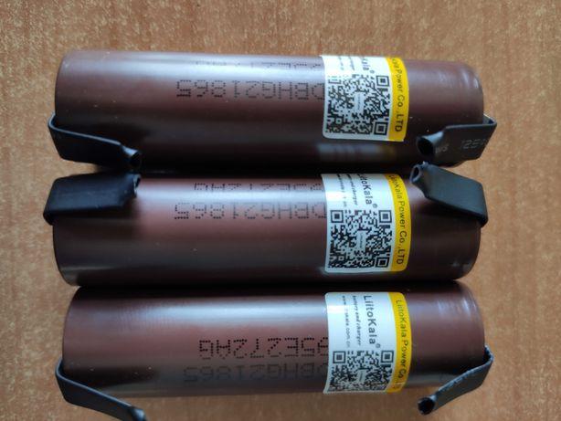Оригинальные высокотоковые аккумуляторы LiitoKala HG2 18650 3000мАч