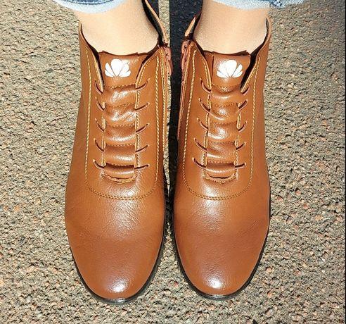 Осенние ботинки 40