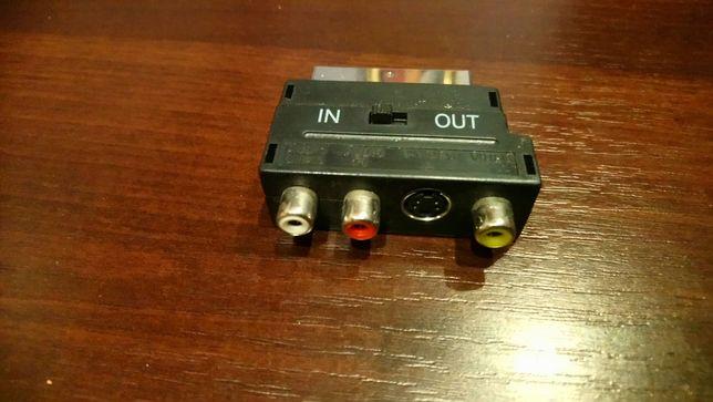 Kable przejściówki audio video euro
