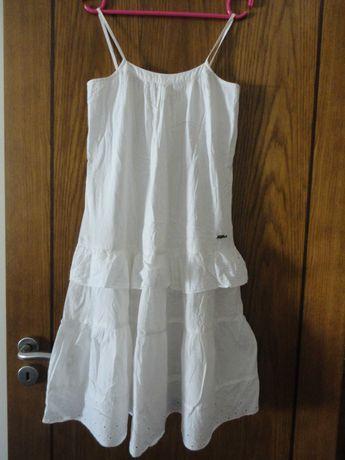 Tam.13/14A (158/166cm) - TIFFOSI vestido alcinhas+folhos