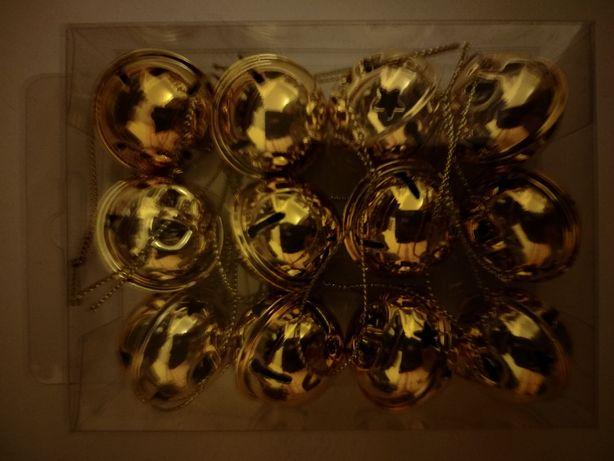 Золотые бубенцы ошейник декор рукоделие